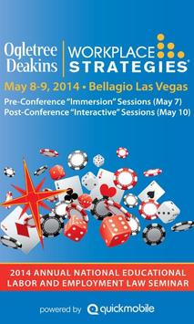 Workplace Strategies 2014 poster