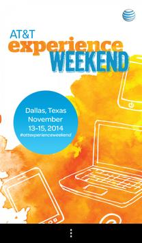 AT&T Experience Weekend poster