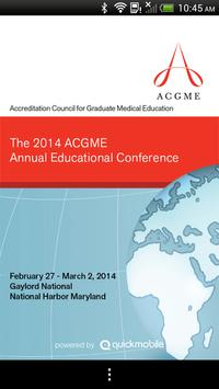 ACGME AEC 2014 poster