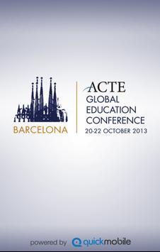 ACTE Barc'13 poster