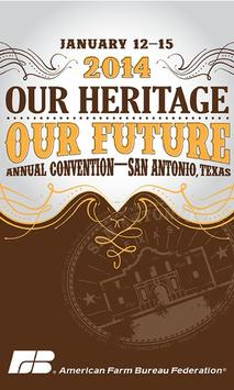 2014 AFBF Annual Convention poster