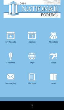 National Forum 2014 apk screenshot