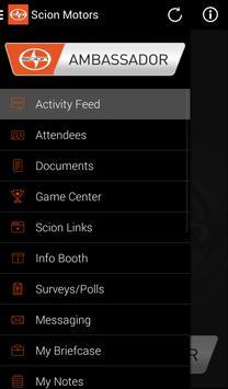 Scion Ambassador apk screenshot
