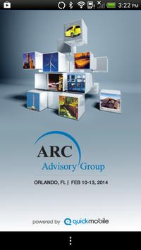 ARC Industry Forum 2014 poster