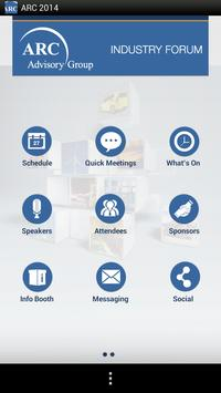 ARC Industry Forum 2014 apk screenshot