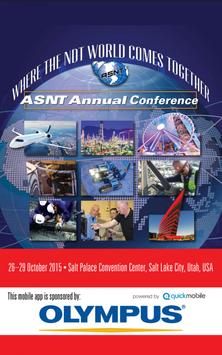 ASNT 2015 Annual Conference poster