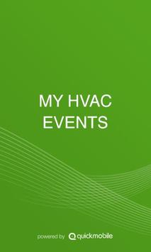 MY HVAC EVENTS poster