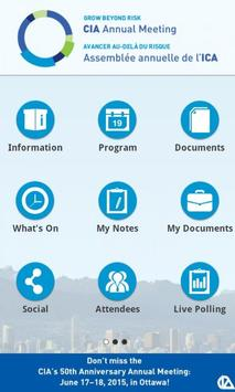 CIA-ICA 2014 apk screenshot