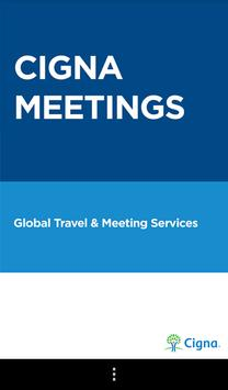 Cigna Meetings poster