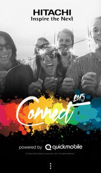 Connect 2015 by HDS poster