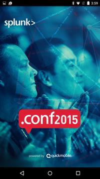 Splunk .conf2015 poster