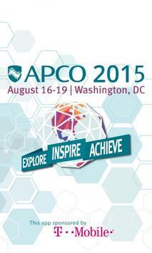 APCO 2015 poster