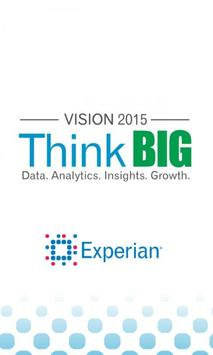 Experian Vision 2015 poster