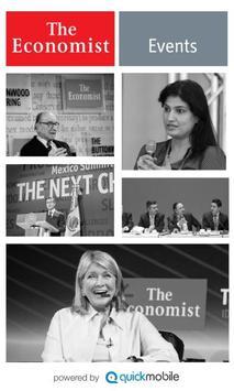 The Economist Events poster