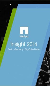 NetApp Insight 2014 | Berlin poster