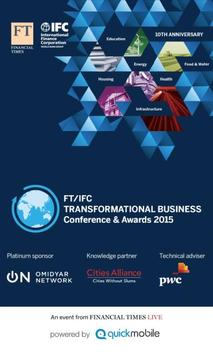 FT/IFC Conference & Awards 15 poster