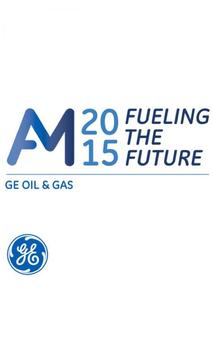 GE Oil & Gas Annual Meeting poster