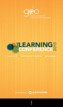 The Learning Conference 2015 poster