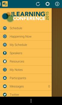 The Learning Conference 2015 apk screenshot