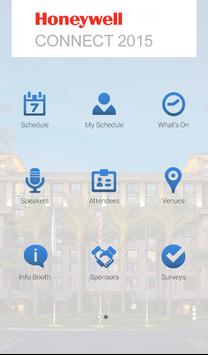 Honeywell Connect 2015 apk screenshot