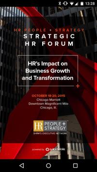 HR People + Strategy poster