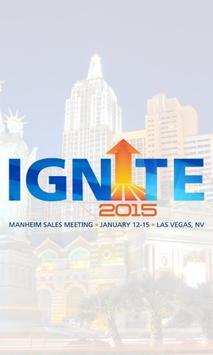IGNITE 2015 Sales Meeting poster