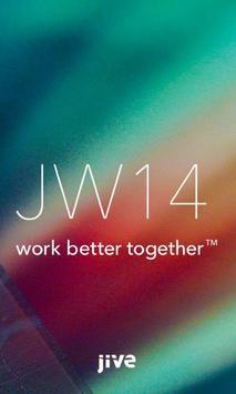 JiveWorld14 poster