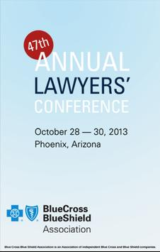 Annual Lawyers' Conference poster