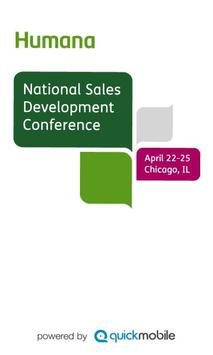 Humana Sales Conference NSDC13 poster