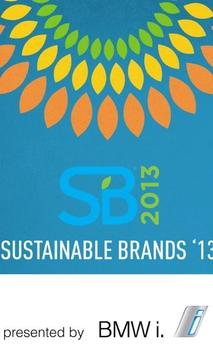 Sustainable Brands '13 poster