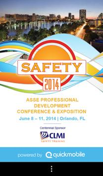 Safety 2014 poster