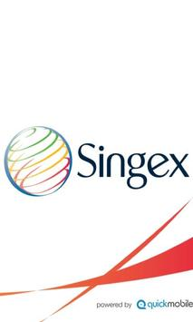 Singex Event Application poster