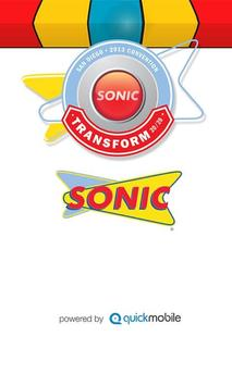 2013 SONIC National Convention poster