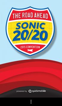 2015 SONIC National Convention poster