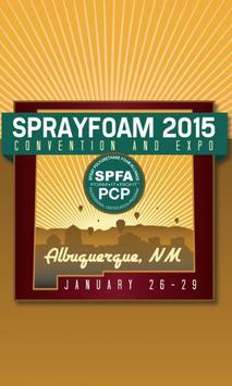 Sprayfoam 2015 poster