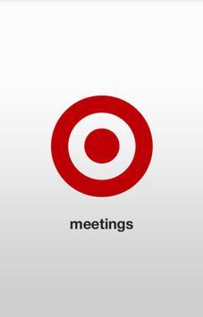 Target Meetings poster
