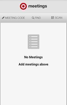 Target Meetings apk screenshot