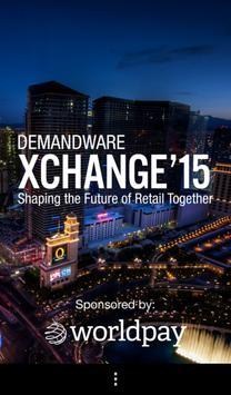 Demandware XChange '15 poster