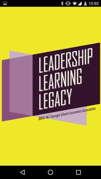 Leadership Learning Legacy poster