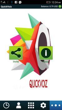 Qickvoiz poster