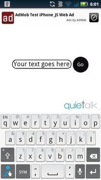 Quietalk poster