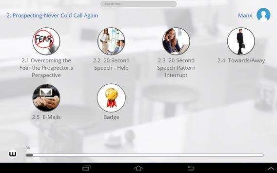 Manx Sales Training apk screenshot