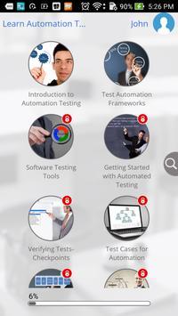 Automation Testing 101 apk screenshot