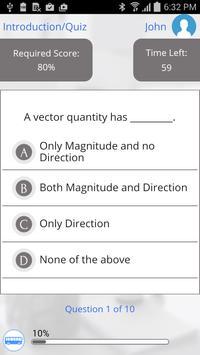 Learn Vector Algebra apk screenshot
