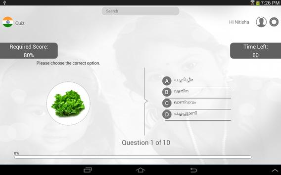Learn Malayalam via Videos apk screenshot