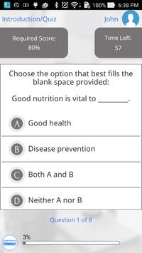 Nutrition 101 by GoLearningBus apk screenshot