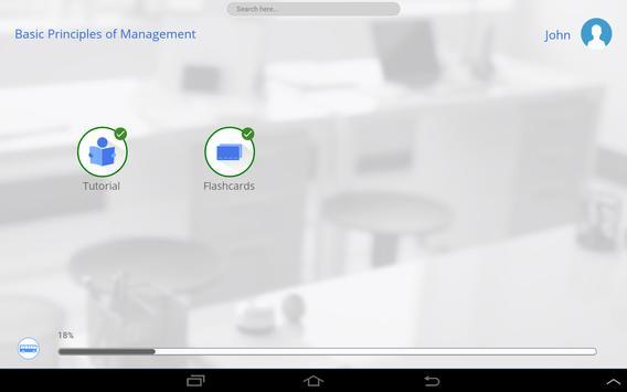Learn Principles of Management apk screenshot