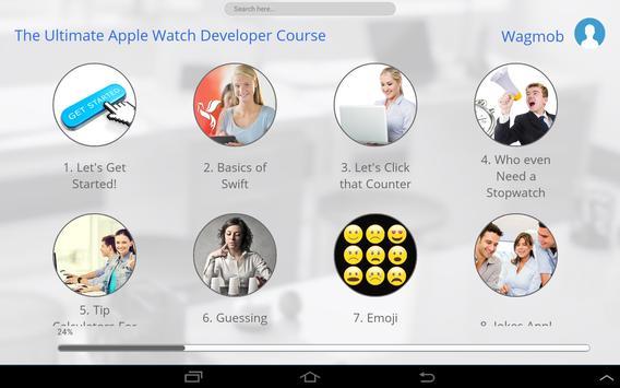 Programming for Apple Watch apk screenshot