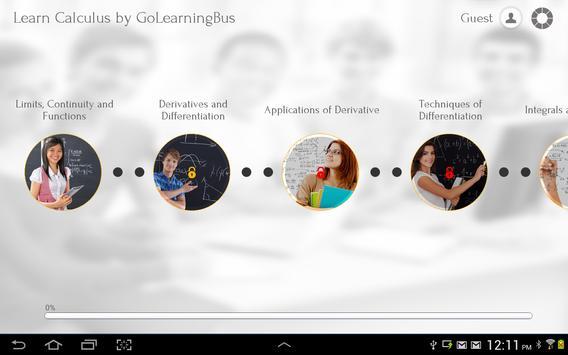 Learn Calculus apk screenshot