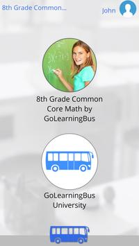 8th Grade Common Core Math apk screenshot